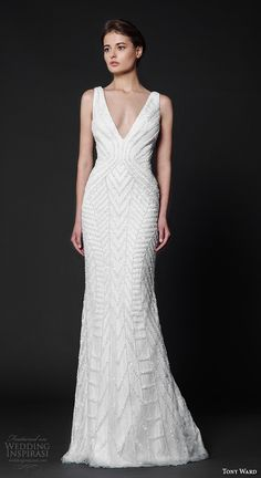 "Tony Ward 2016 Wedding Dresses — ""Abstract Roses"" Bridal Collection 
