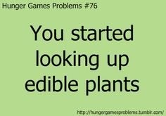 76 Hunger Games Problems