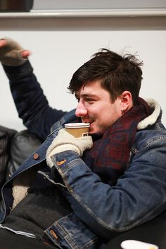 mumfordandsonsblog:  Marcus Mumford of Mumford  Sons, as captured by Phil Smithies (Website/Flickr/Facebook).