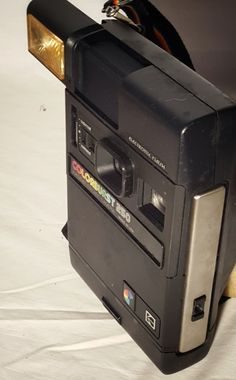 Vintage 1980s Colorburst 250 Kodak Instant Camera, Electronic Flash by HailleysCloset on Etsy