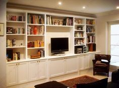 Built in Cabinets, Alcove Cupboards & Built in Cupboards