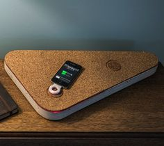 A series of designer magnetic induction wireless chargers.