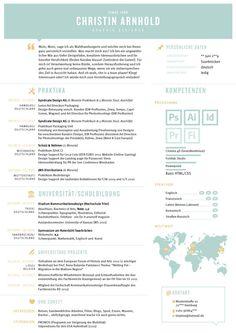 creative CV Curriculum vitea Lebenslauf graphic design portfolio