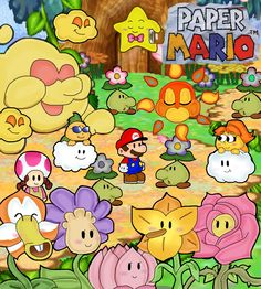 179 best paper mario images on pinterest in 2018 paper mario flower fields in paper mario mightylinksfo