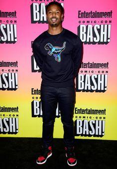 The Best Dressed Men Of The Week: Michael B. Jordan at Comic-Con, San Diego. #bestdressedmen #michaelbjordan