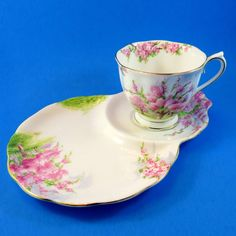 Royal Albert Blossom Time Tea Cup & Saucer Tennis Snack Set | Pottery & Glass, Pottery & China, China & Dinnerware | eBay!