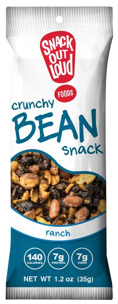 Snack Out Loud roasted crunchy beans #glutenfree #NutFree #SoyFree #NonGMO