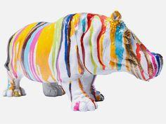 Figurka Dekoracyjna Hippo marki Kare Design - sfmeble.pl