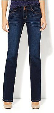 New York & Co. Curve Creator Bootcut Jean - Harlow Blue Wash on shopstyle.com