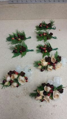 Champagne and sangria Wedding Corsages, Sangria, Champagne, Bridal Shower Corsages