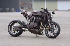 "Suzuki Bandit 1200 ""Hot Chocolate"" by Bad-Bikes - via Racing Cafe"