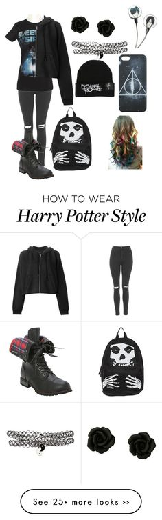 """Back to School"" by yagirlj on Polyvore featuring Topshop and rag & bone"