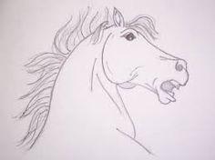 Resultado de imagem para drawings of horses running