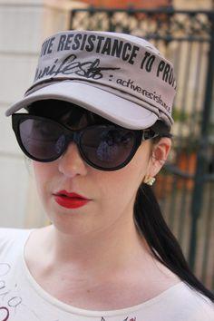 Military Cap Military Cap, Cat Eye, Baseball Hats, Trends, Sunglasses, Fashion, Baseball Caps, Moda, La Mode