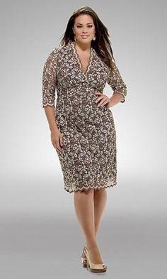 look perfecto para las mujeres de talla grande