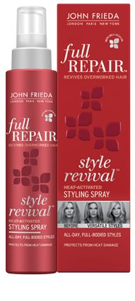 Style Revival™ Heat-Activated Styling Spray.  A must have for perfect blow-outs. No frizz, no flyaways, no stickiness and no crunchies!