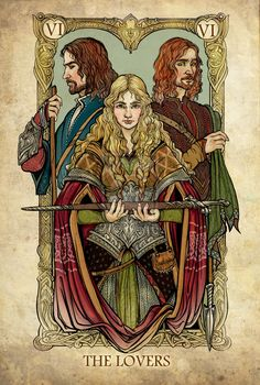 These Are The Lord Of The Rings Tarot Cards You've Been Dreaming Of. ((I'm in love with tarot!))