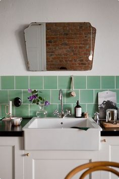 Make It Special: 7 Simple Ways to Customize a Rental Kitchen | These easy ideas for decorating your rental kitchen won't require whipping out a paintbrush when it's time to move out. Decals that detach with a tug, rugs that roll up and follow you to your next home, and hardware that detaches with a few twists of a screwdriver let you design a custom kitchen—without upsetting your landlord.