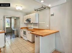 Antes y Después de una cocina ¿blanca o negra? ... o las dos! | Decorar tu casa es facilisimo.com