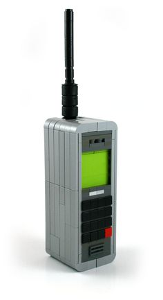 When old mobile phones were like 'bricks' - LEGO Custom Design by (by MacLane)