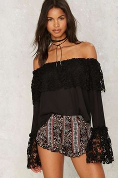 Aria Ruffle Shorts | Shop Clothes at Nasty Gal!