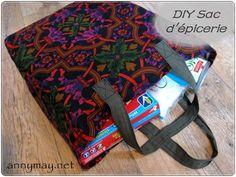 Les sacs réutilisables que les épiceries vendent sont bien pratiques…. très bon format, solides et beaucoup mieux qu'un sac de plastique jetable! Les miens sont très usés!