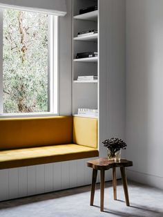 Great window seat ideas - ideas around the house - - # ideas rund ums haus garten Australian Interior Design, Interior Design Awards, Window Seat Kitchen, Window Table, Window Seats Bedroom, Bay Window Seating, Window Seat Storage, Window Benches, Bedroom Windows