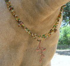 Rhythm beads in pretty fall colors.