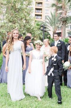 Flower girl dresses - PSJ Photography Cinema Wedding, Wedding Ceremony, Wedding Gowns, Wedding Picture Walls, Hayley Paige Bridal, Girls Dresses, Flower Girl Dresses, Bridal Salon, Wedding Gallery