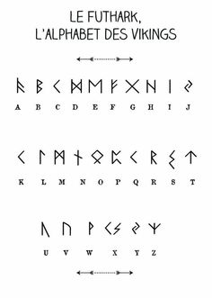 Royalty Free Vikings Rune Tattoo Designs Futhark Canyons Run Run Magic . - Royalty Free Vikings Rune Tattoo Designs Futhark Canyons Run Run Magic … – The Best Tattoos – - Viking Rune Tattoo, Viking Tattoos, Viking Tattoo Design, Alphabet Code, Alphabet Symbols, Viking Runes Alphabet, Nordic Alphabet, Aramaic Alphabet, Tattoo Alphabet