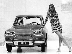 Citroen AMI-8 Citroen Ds, Psa Peugeot Citroen, Classic Cars British, Chevy Classic, Auto Girls, Car Girls, Vintage Bikes, Vintage Cars, Up Auto