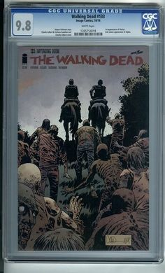 Walking Dead #133 1st Printing (Image Comics 2014) CGC 9.8 - NM/MT | eBay