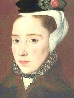 English lady c1555