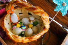 MojaKuchniaMalutka i reszta domu : Drożdżowy koszyczek Wielkanocny