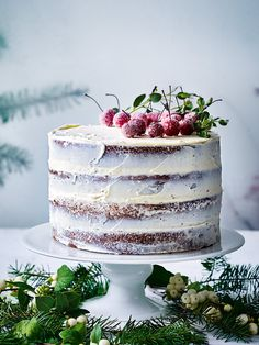 Make this special cardamom cake, with an orange blossom icing, the centrepiece…