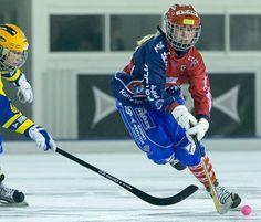 Bandy: Norway's star player Charlotte Selbekk