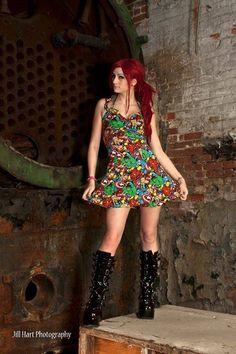 Sale Marvel Avengers dress. by RebeccasDorkyDesigns on Etsy