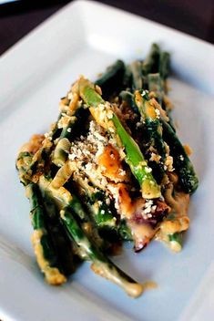 Green Bean Casserole | This classic side dish reinvented! Just be sure to substitute your favorite gluten free panko or standard bread crumbs. @Nakita L. Roberts