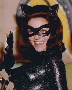 """Lee Meriwether as Catwoman in the 1966 movie """"Batman"""" Lee Meriwether, Batman Y Robin, Batman 1966, Batman Comics, Batman Tv Show, Batman Tv Series, Catwoman Cosplay, James Gordon, Catwoman Selina Kyle"""