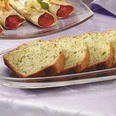 Lemony Zucchini Bread Recipe from Taste of Home