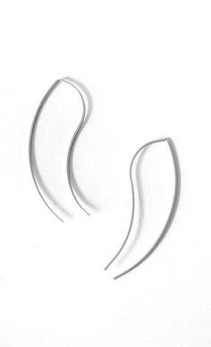 By Boe | Mini Talon Threader Earrings