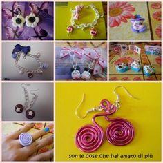 Son le cose che hai amato di più - Orecchini e anelli in fimo handmade
