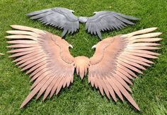 Child-Sized Maleficent Wings by ThePinkPoudo on Etsy