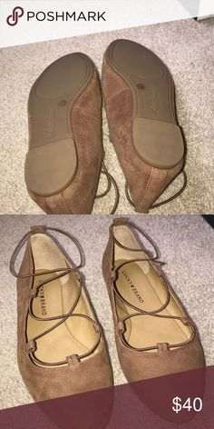 Lucky Brand strappy flats Cute!   Like new Lucky Brand Shoes Flats & Loafers