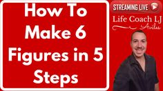 How To Earn 6 Figures Online in 5 Steps  Like a VIP  How To Earn 6 Figures Online in 5 Steps  Like a VIP  Learn How To Make 6 Figures in 5 Steps  http://www.LifeCoachLJ.com/6Figure-YT  Learn How To Work With Me Personally  http://www.LifeCoachLJ.com/TopBiz-YT  In this videoI ask a few questions about your struggles. If you answer Yes to them then you may want to learn how to work with me personally so I can help you out best.  #Live Stream Video  Please Like Comment Subscribe and Share this…