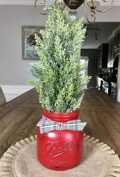 Mason Jar Christmas Tree – Stacy Turner Creations - Before After DIY Christmas Jars, Rustic Christmas, Winter Christmas, Christmas Home, Christmas Quotes, Farmhouse Christmas Trees, Christmas Tree Ideas 2018, Elmo Christmas, Homemade Christmas Tree
