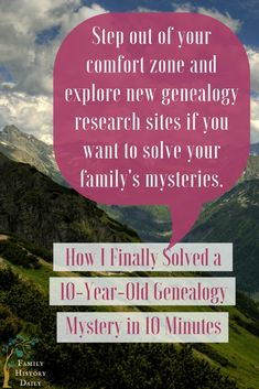 Genealogy Tips: It took less than 10 minutes from the time I uploaded my family tree to make a discovery that allowed me to break down a brick wall that had haunted me for 10 years. Genealogy Websites, Genealogy Forms, Genealogy Search, Genealogy Chart, Family Genealogy, Family Tree Chart, Family Research, Personal History, Family Matters