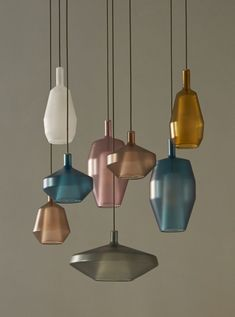 Create your own Penta MOM Family pendant light by combining the different elements in various sizes and colors. Penta regularly releases new colors to give your Penta MOM Pendant light an update. Design Light, Lighting Design, Glass Pendant Light, Pendant Lamp, Pendant Lights, Light Fittings, Light Fixtures, Blitz Design, Ceiling Lamp