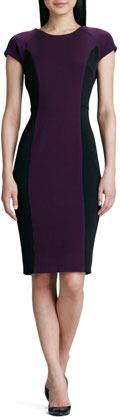 Raoul Colorblock Structured Dress