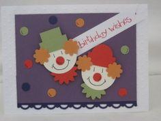 Punch Art - Clown Punch Card